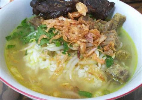 resep soto daging khas jawa tengah oleh anadzu cookpad