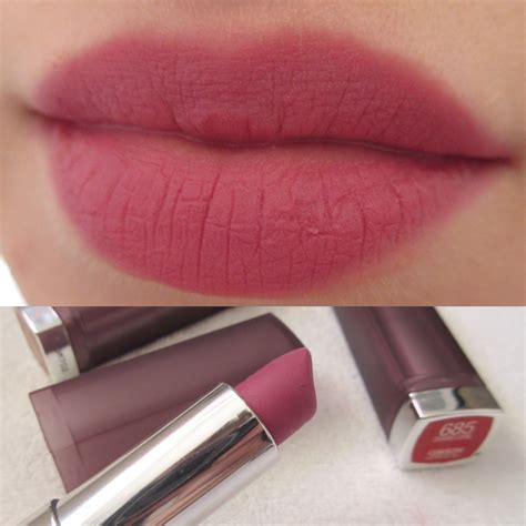 Maybelline Lipstick maybelline color sensational matte lipstick review