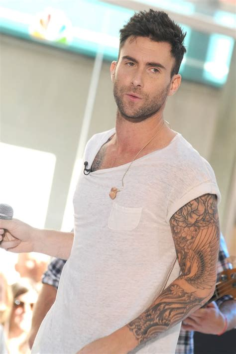 Adam Levine Tattoos   Tattoo Expo