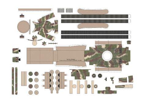 Papercraft Tanks - 23 panzerkatzen paper tank tiger