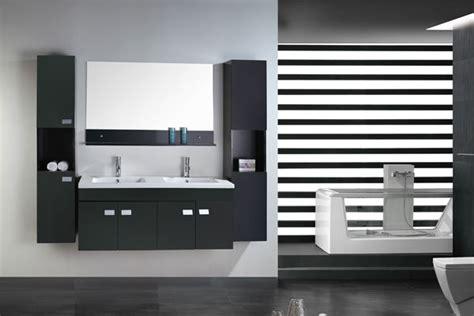 mobile bagno 120 mobile bagno 120 cm nero doppio lavabo in ceramica 2