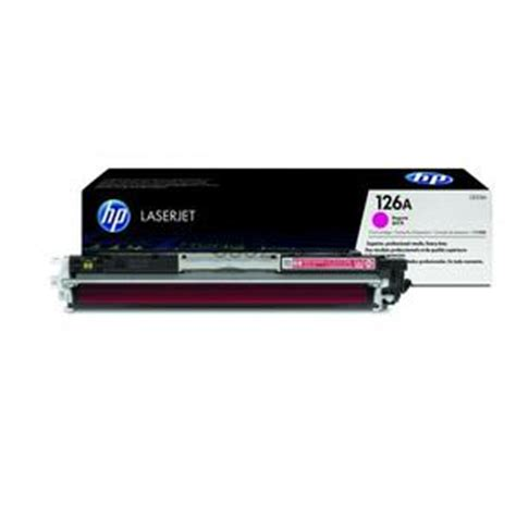 Toner Printer Hp Laserjet 126a Magenta toner hp laserjet 126a ce313a magenta original distributor tinta printer original