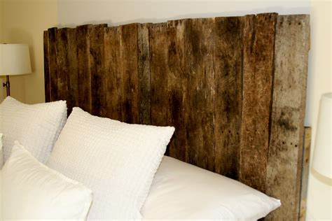 headboards from pallets building a wood pallet headboard diy project