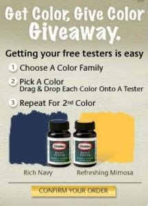expired free glidden paint testers