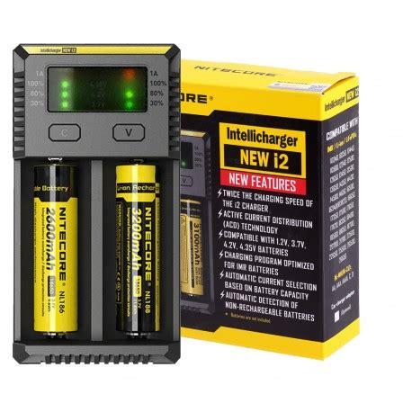 Charger Nitecore I2 By Techno Vape nitecore i2 2bay charger the house of vape