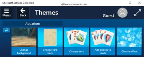 themes for microsoft solitaire collection how to change microsoft solitaire collection theme windows 10