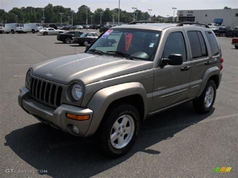 2004 jeep liberty light 2004 light khaki metallic jeep liberty limited 49950636