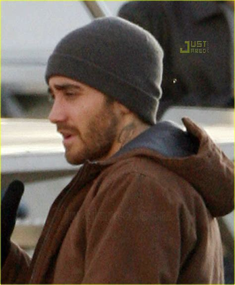 full sized photo of jake gyllenhaal neck tattoo 02 photo