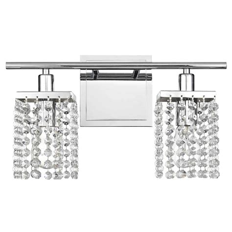 crystal vanity lights bathroom 2 light crystal bathroom vanity light 2275 26