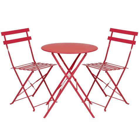 2 Chairs And Table Patio Set Outdoor Patio Folding Metal Bistro Set Table And 2 Chairs Last Reviews Leading Reviews