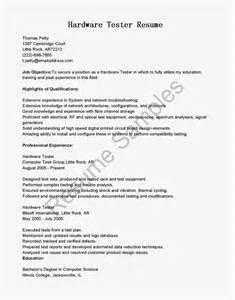 Hardware Tester Sle Resume by Resume Sles Hardware Tester Resume Sle