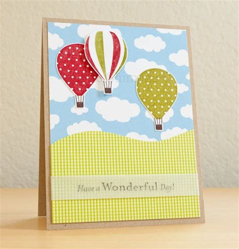 Handmade Air Balloon - 1000 images about air balloon cards on