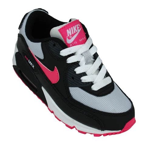 nike shoes max 90 white black pink