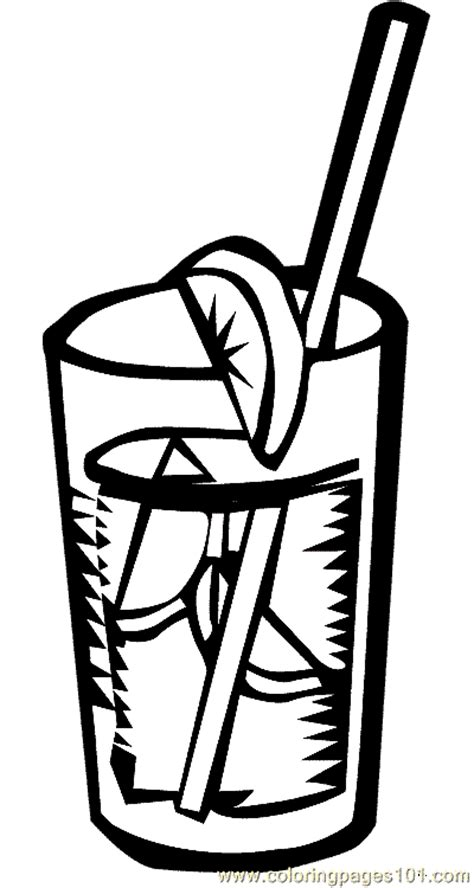drink coloring page 07 coloring page free drinks