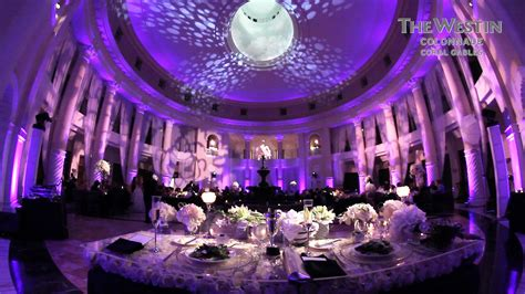 Wedding Animation Kl by Weddings At The Westin Colonnade In Coral Gables