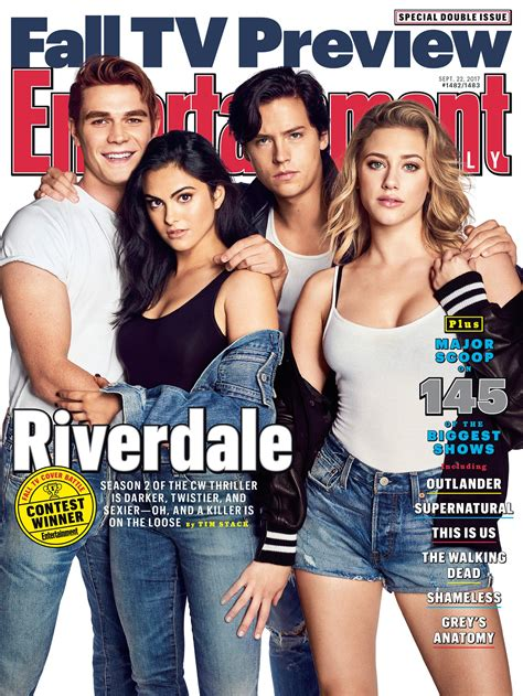 entertainment weekly fall tv preview riverdale inside the show s darker sexier season 2 ew