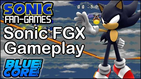 sonic fan made games sonic fan games sonic fgx dark sonic gameplay download