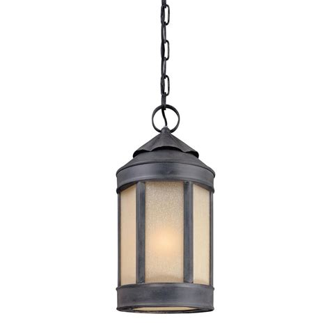 Outdoor Lighting Pendants Sea Gull Lighting Sebring 1 Light Weathered Copper Outdoor Pendant 6150 44 The Home Depot
