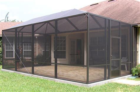 Patio Enclosures Jacksonville Fl; Patio Screen Enclosures