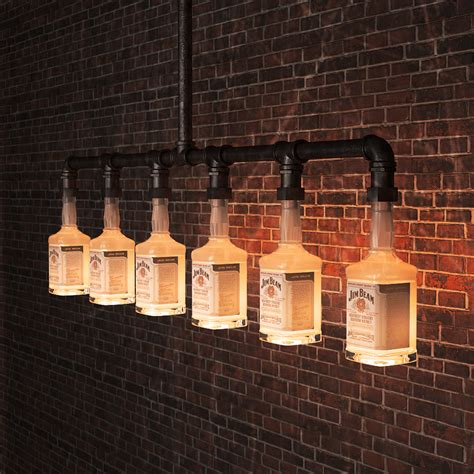 Beleuchtung Vintage by Aliexpress Buy Jim Beam Glass Bottle Chandelier