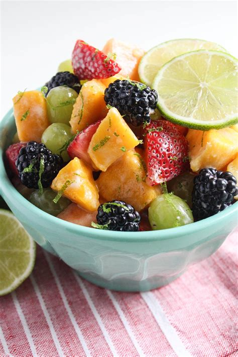 fruit yogurt salad fruit salad with yogurt honey lime dressing fannetastic