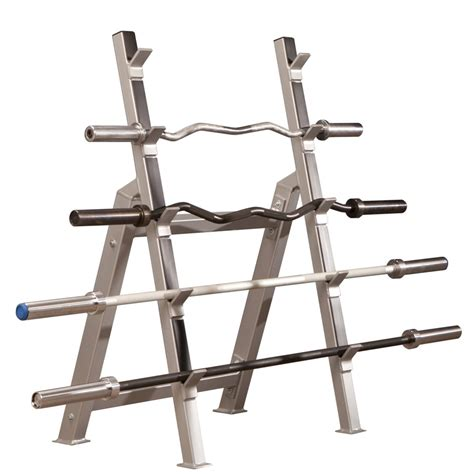 horizontal olympic bar storage rack bomb proof bp 50
