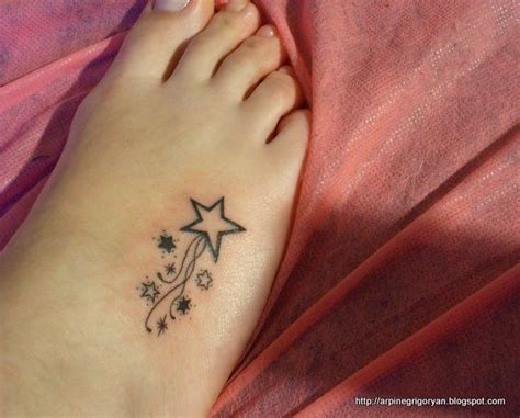 small star tattoos on foot best 25 foot tattoos ideas on
