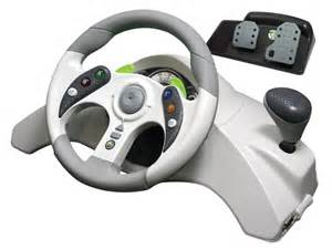 Mad Catz Microcon Steering Wheel For Xbox 360 Mad Catz Xbox 360 Mc2 Racing Wheel Pedals Novo Magazine