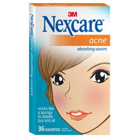 Acne Cover Nexcare Nexcare Acne Absorbing Cover Two Sizes 36
