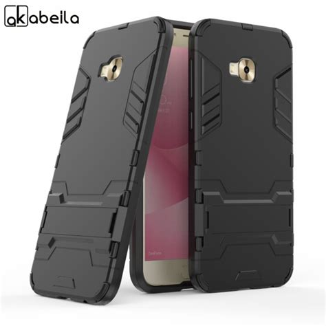 2in1 Protection Armor Cover Casing Bumper For Asus Zenfone 5 akabeila kickstand back cover for asus zenfone 4