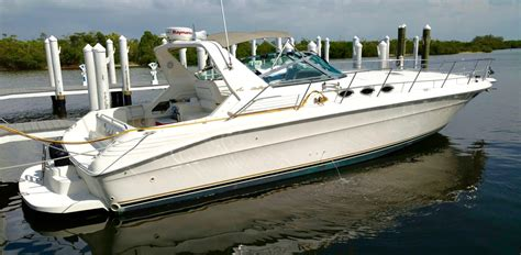 sea ray boat key replacement 1994 used sea ray 400 express cruiser boat for sale