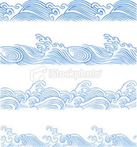 wave pattern line drawing wave line art silhouettes water clip art coastal