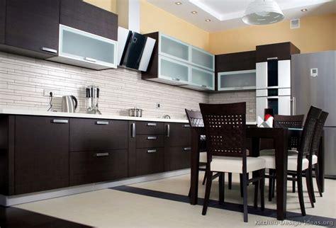Pictures of kitchens modern dark wood kitchens kitchen 2