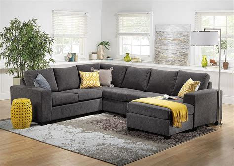 Cozy Living Room With Sectional 10 Cozy Living Room Sutton U Shaped Sectional Ideas