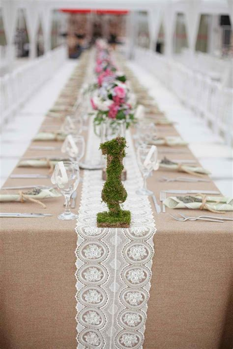 rustic table linens for weddings wedding table ideas the bright ideas