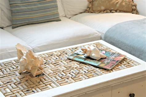 Wine Cork Coffee Table My Home Tour 25 More Home Tours 4 Real