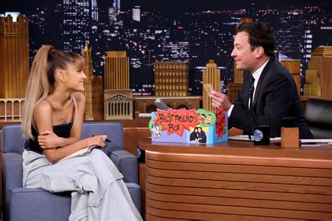 best of jimmy fallon tonight show grande performs quot side to side quot on jimmy fallon s