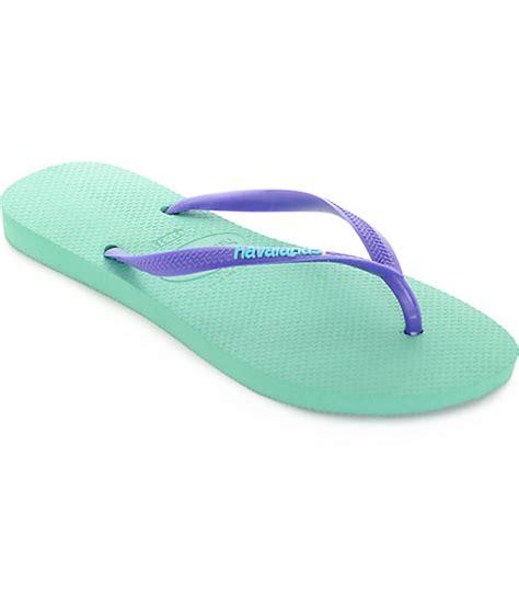 Logo Pop Green havaianas slim logo pop up light green flip flop sandals