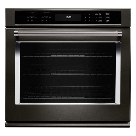 how to install a wall oven in a base cabinet kitchenaid 30 in single electric wall oven self cleaning