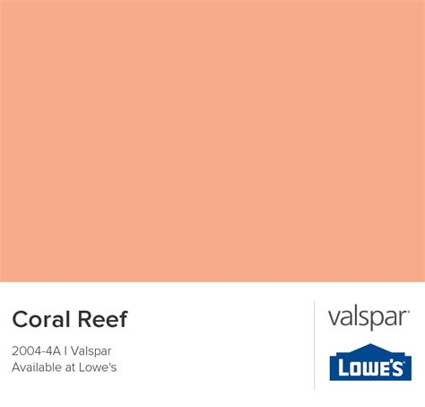 coral reef from valspar spare bedroom ideas