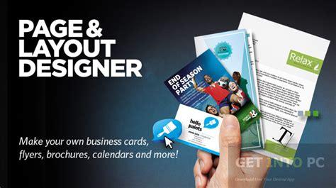 page layout design download xara page layout designer free download