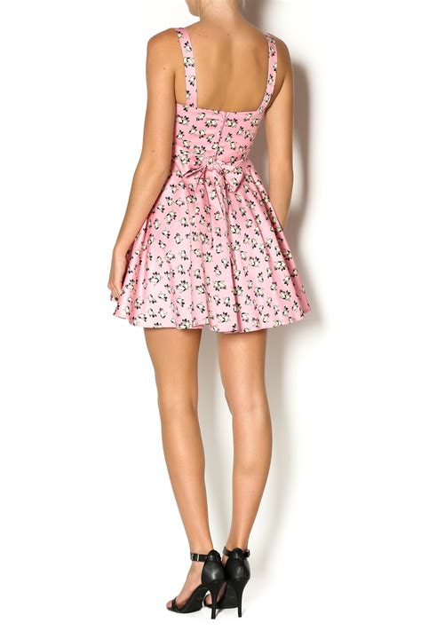 pug dress ixia pink pug dress from california by mp couture shoptiques