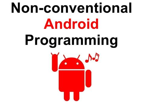 android programming non conventional android programming italiano