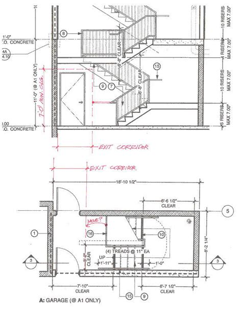 Minimum Ceiling Heights by Minimum Ceiling Height For Bedroom Egress Element And Stairways Ceiling Height Stairway