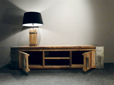 tv meubel van hout tv meubel asmund van oud hout robuustetafels nl