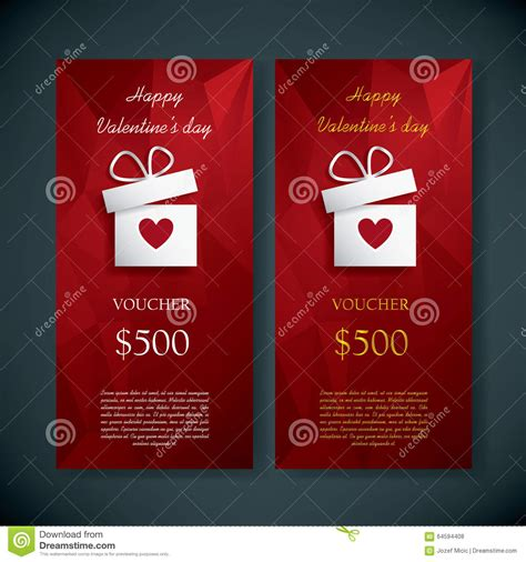 gift card text template s day gift card voucher template present stock