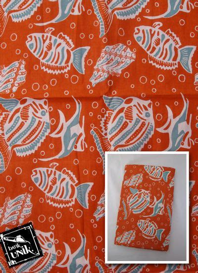 Batik Printing Berbahan Katun Primisima Dengan Motif Parang Prada kain batik katun print motif gelembung parang ikan kain murah batikunik