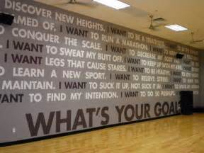 Gym Wall Murals motivational wall murals for gym just b cause