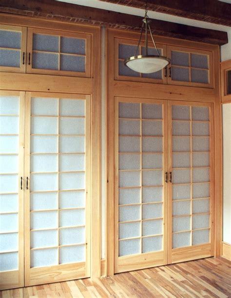 Rice Paper Closet Doors Shoji Closet Doors Dominik Back Custom Woodwork