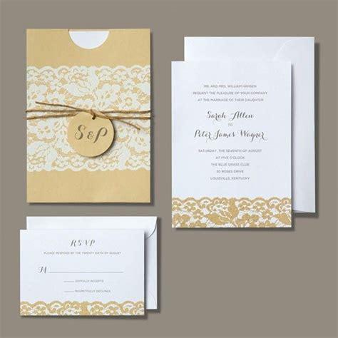 brides printable wedding invitation kits brides 174 rustic chic invitation kit wedding ideas for